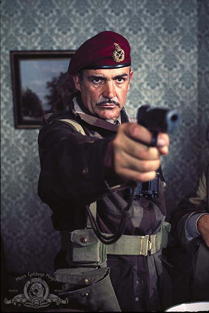 Sean Connery in A Bridge Too Far 1977
