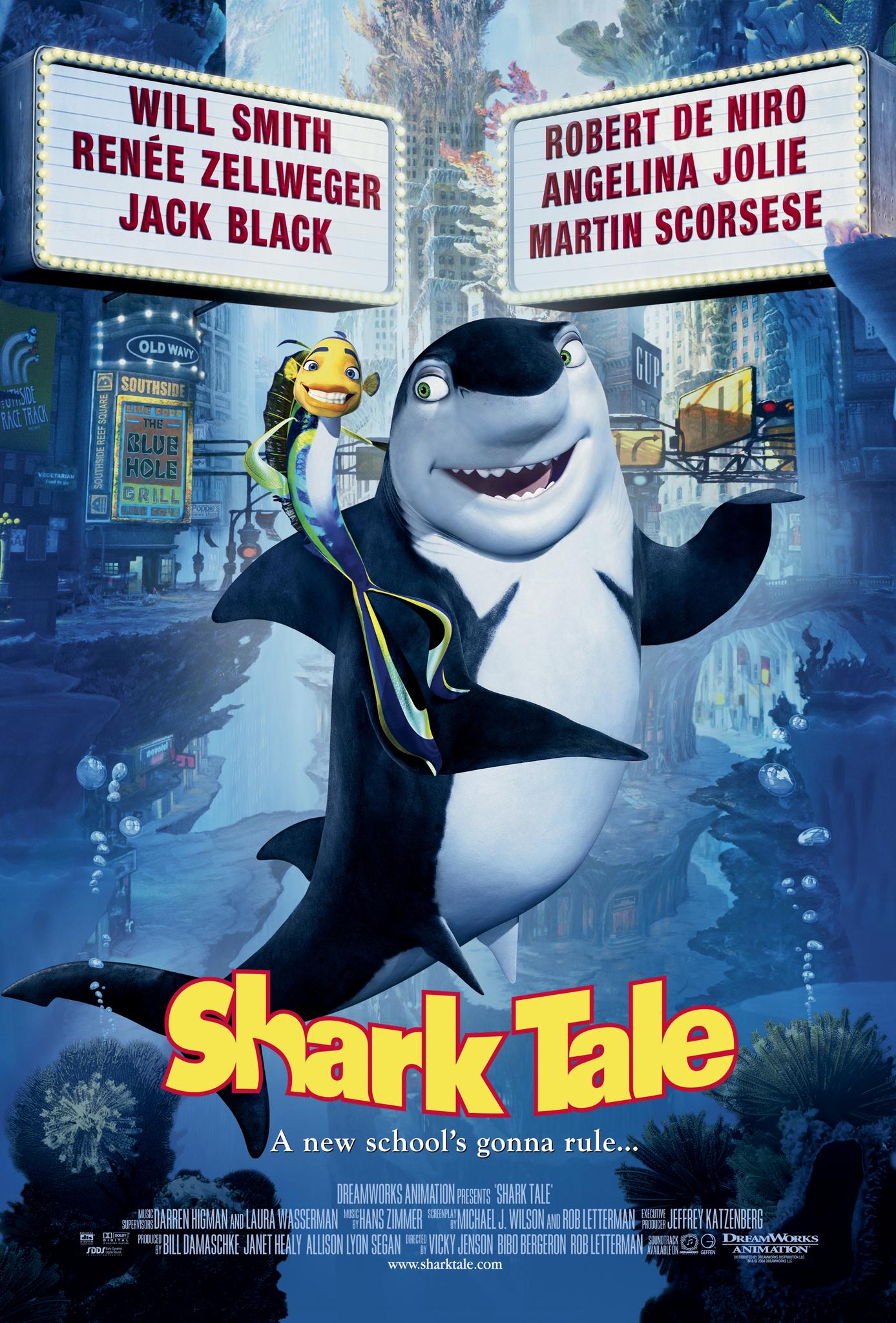 Shark Tale (2004) BluRay 480p, 720p & 1080p