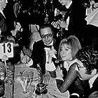 """Academy Awards: 41st Annual,"" Barbra Streisand, Elliot Gould."