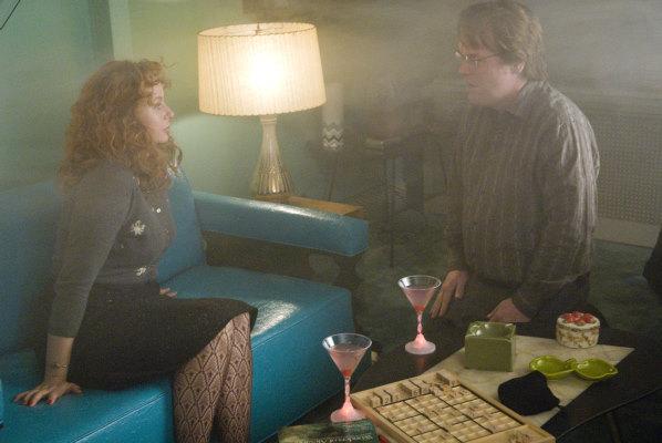 Philip Seymour Hoffman and Samantha Morton in Synecdoche, New York (2008)