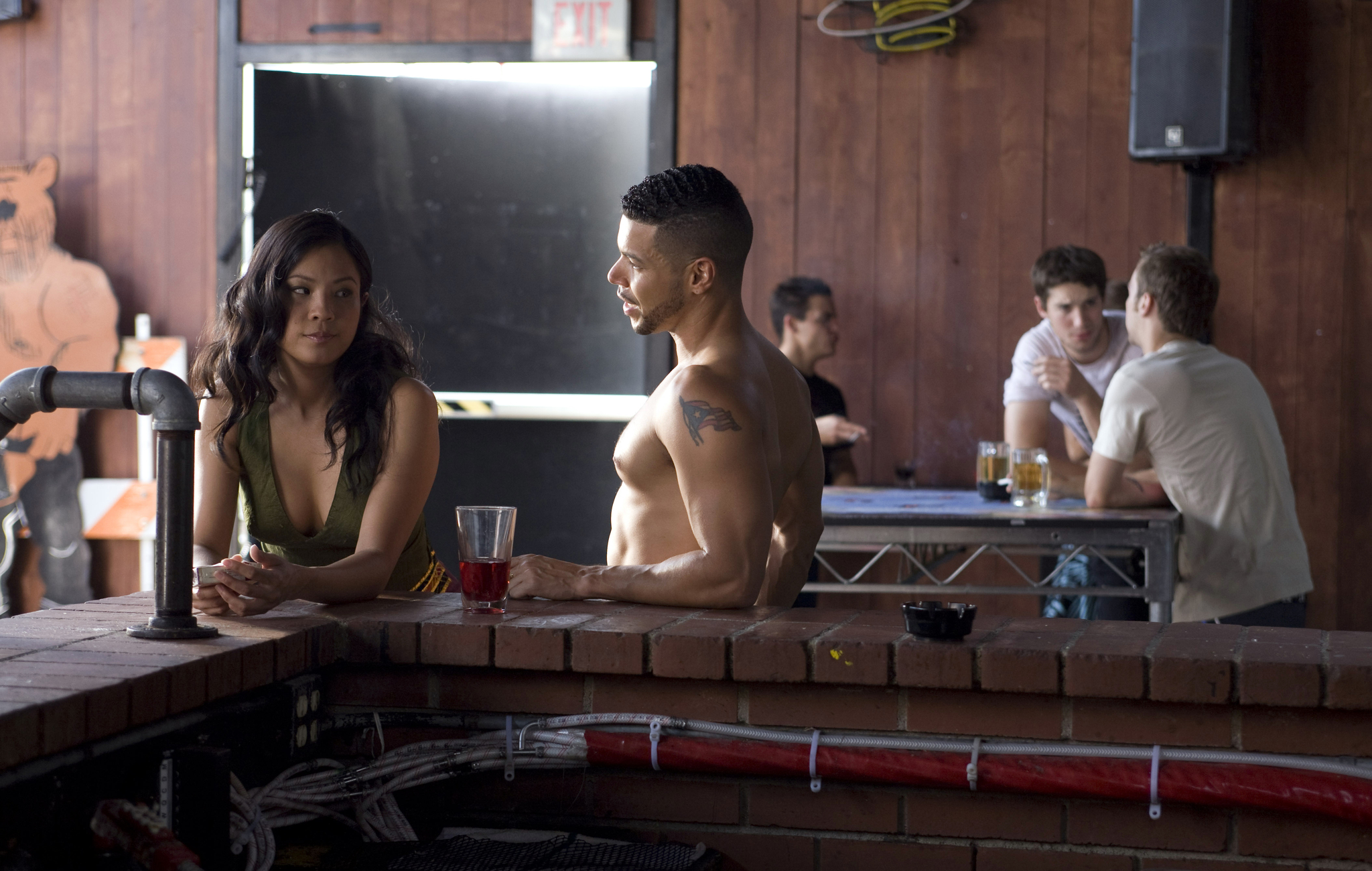Karin Anna Cheung and Wilson Cruz in The People I've Slept With (2012)