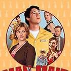 Steve Hytner, Jane Lynch, Justina Machado, Sara Rue, Amanda Walsh, and Phillip Vaden in Man Maid (2008)