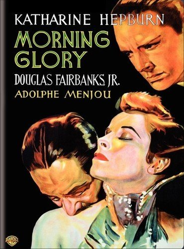 Katharine Hepburn, Douglas Fairbanks Jr., and Adolphe Menjou in Morning Glory (1933)