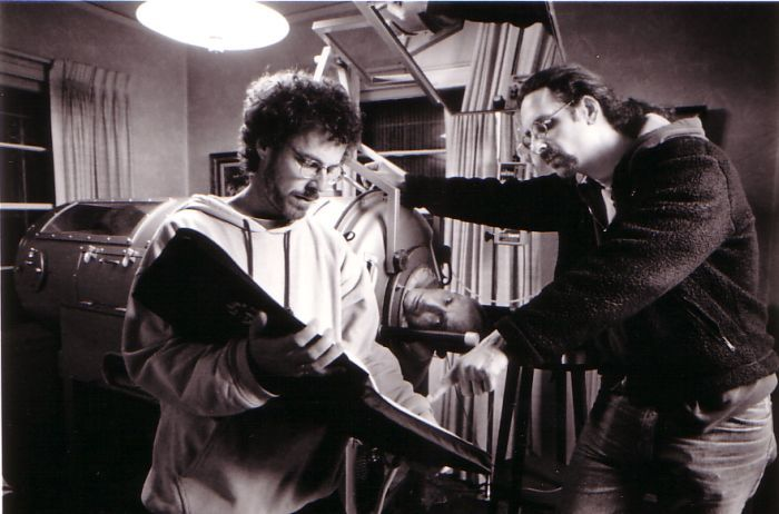 Ethan Coen and Joel Coen in The Big Lebowski (1998)