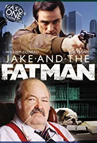 William Conrad and Joe Penny in Jake and the Fatman (1987)