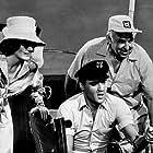 """Elvis Presley, Ann McCrea, and Nester Paiva in """"Girls! Girls! Girls!"""" Paramount, 1962."""