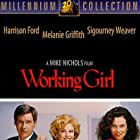 Harrison Ford, Sigourney Weaver, and Melanie Griffith in Working Girl (1988)