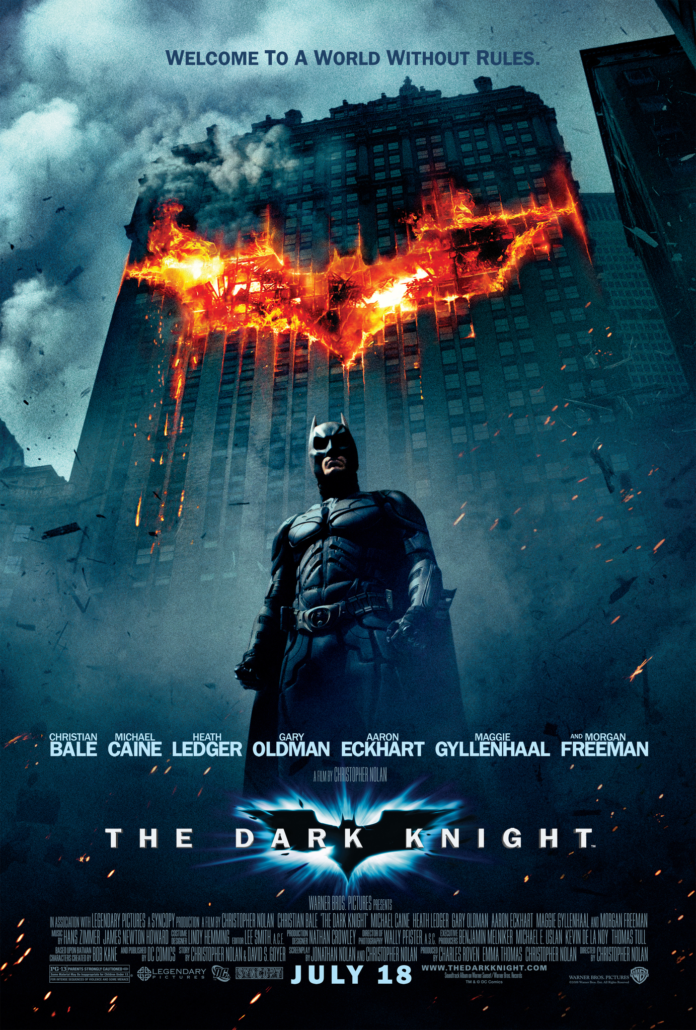 The Dark Knight (2008) Hindi Multi Audio BluRay 720P ESubs