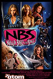 Ninja Babes from Space Poster