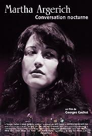 Martha Argerich, conversation nocturne Poster