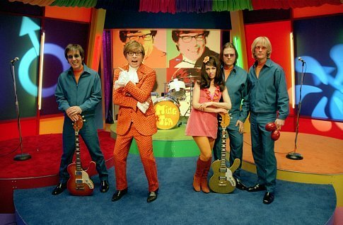 Mike Myers and his band, Ming Tea
