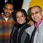 S. Epatha Merkerson, Ruben Santiago-Hudson, and George C. Wolfe at an event for Lackawanna Blues (2005)
