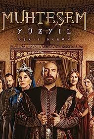 Nebahat Çehre, Okan Yalabik, Halit Ergenç, Selma Ergeç, Nur Fettahoglu, and Meryem Uzerli in Muhtesem Yüzyil (2011)