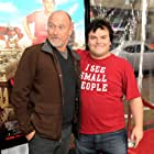 Corbin Bernsen and Jack Black at an event for Gulliver's Travels (2010)