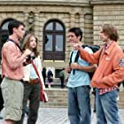Michelle Trachtenberg, Jacob Pitts, Travis Wester, and Scott Mechlowicz in EuroTrip (2004)