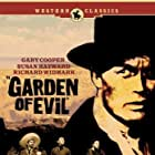 Gary Cooper, Richard Widmark, Víctor Manuel Mendoza, and Cameron Mitchell in Garden of Evil (1954)