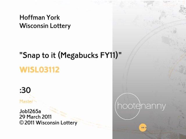 Wisconsin Lotterymegabucks From Elvis Thao