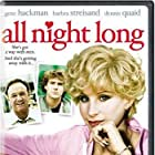 Gene Hackman, Dennis Quaid, and Barbra Streisand in All Night Long (1981)