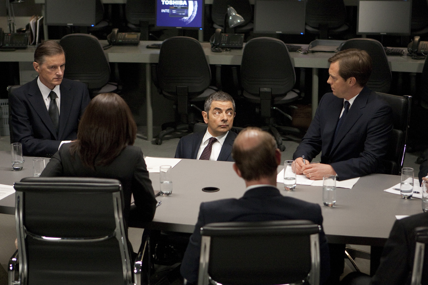 Rowan Atkinson in Johnny English Reborn (2011)