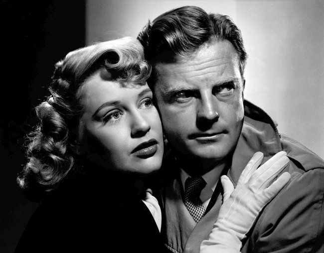William Lundigan and Dorothy Patrick in Follow Me Quietly (1949)