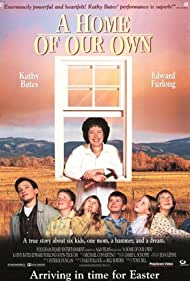 Edward Furlong, Kathy Bates, Miles Feulner, T.J. Lowther, Clarissa Lassig, Amy Sakasitz, and Sarah Schaub in A Home of Our Own (1993)