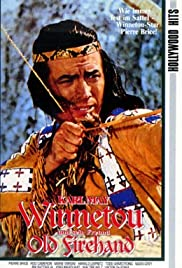 Winnetou and Old Firehand Poster