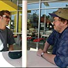 Matt Stone and Michael Moore in Bowling for Columbine (2002)