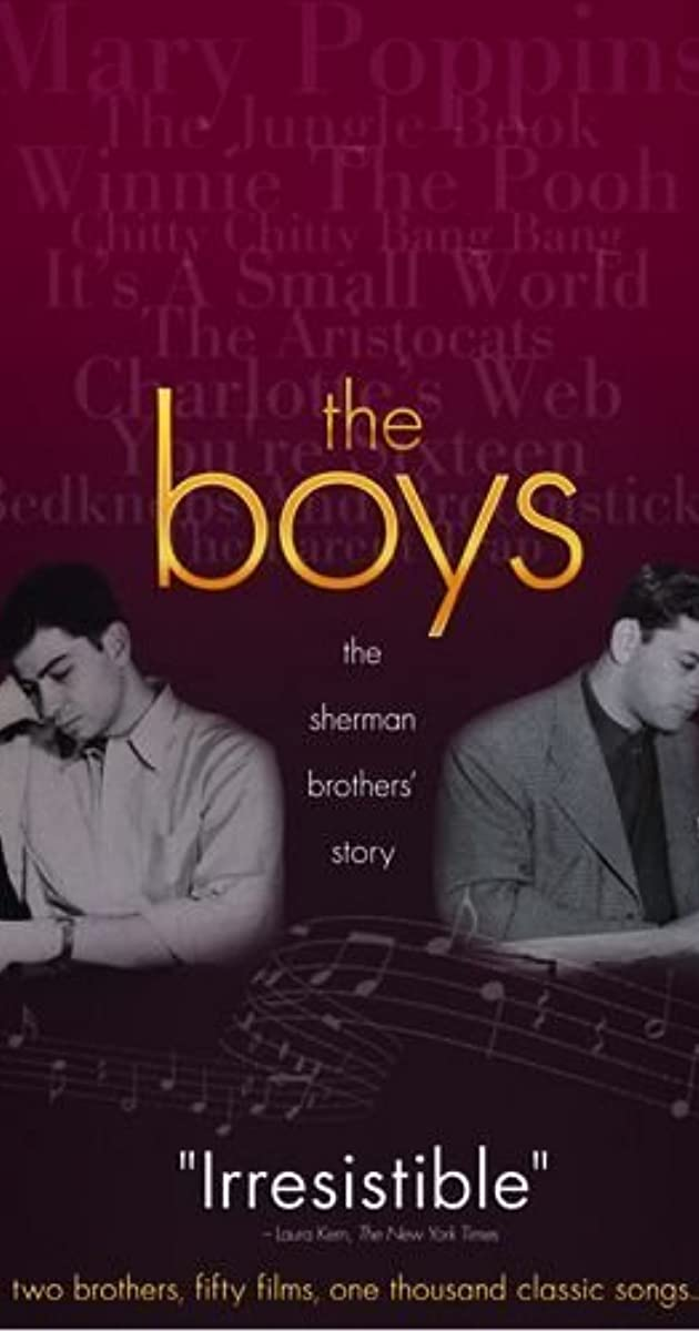49c5502c8d0 The Boys: The Sherman Brothers' Story (2009) - IMDb