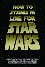 How to Stand in Line for Star Wars Poster