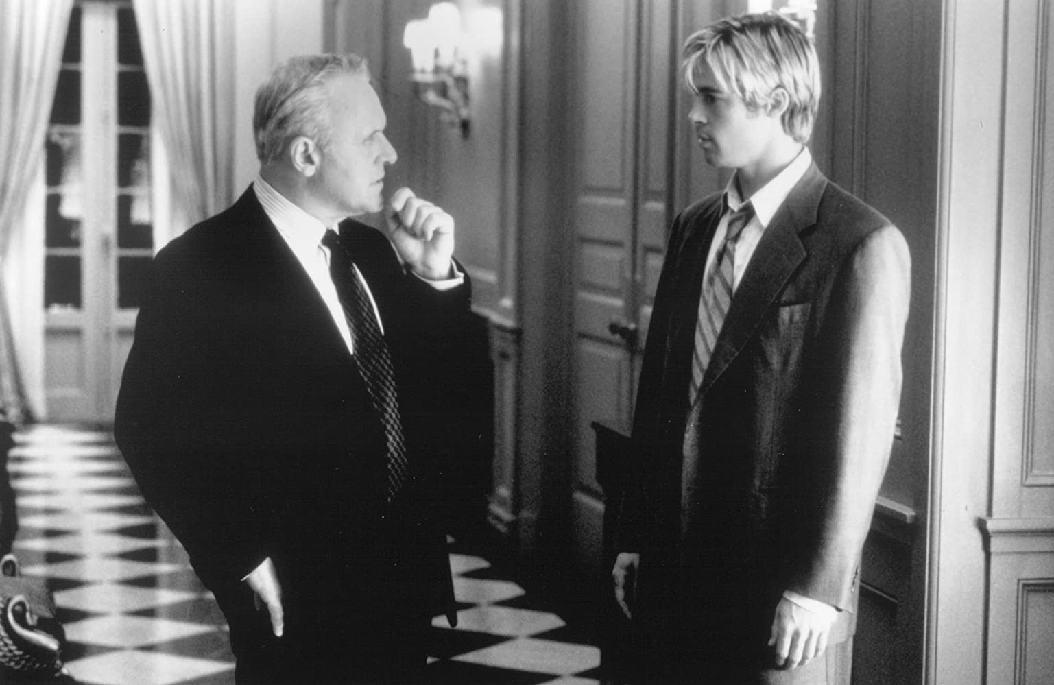 Brad Pitt and Anthony Hopkins in Meet Joe Black 1998