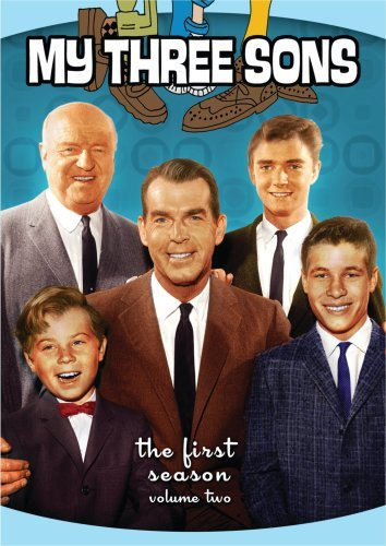 Tim Considine, William Frawley, Don Grady, Stanley Livingston, and Fred MacMurray in My Three Sons (1960)