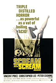 Scream and Scream Again Poster