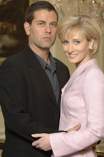Patrick Baladi and Genevieve O'Reilly in Diana: Last Days of a Princess (2007)