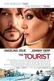 Johnny Depp and Angelina Jolie in The Tourist (2010)