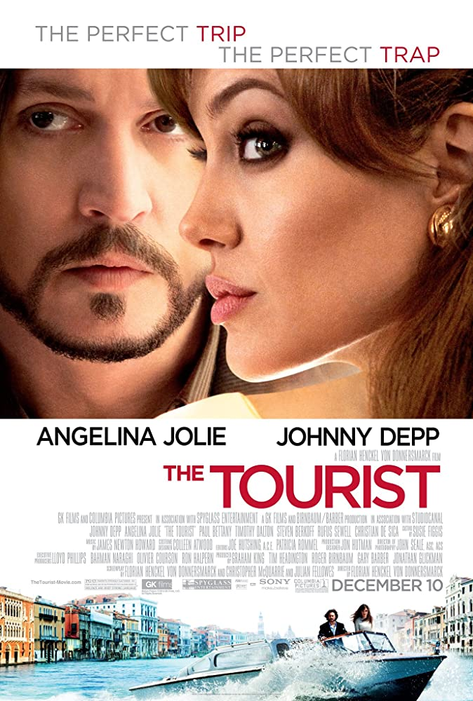 The Tourist 2010 Dual Audio Hindi 300MB BluRay 480p ESubs