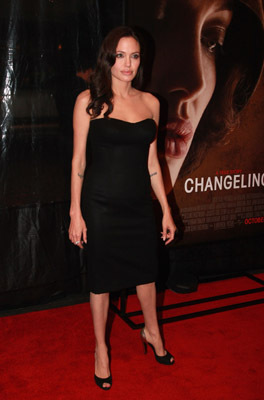 Angelina Jolie at an event for Changeling (2008)