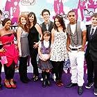Cast Photo Disney Channel 'Life Bites' at the Camp Rock London Premier Nicola Posener