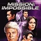 Leonard Nimoy, Lesley Ann Warren, Peter Graves, Peter Lupus, and Greg Morris in Mission: Impossible (1966)