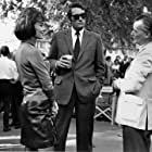 """Gregory Peck, and Anne Haywood With Director J.Lee Thompson """"The Chairman"""" 1969 20th century fox"""