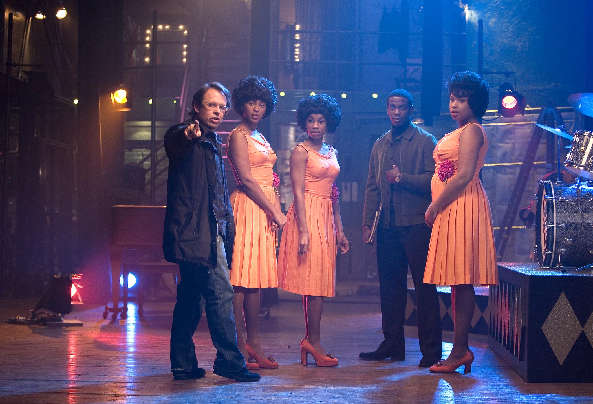 Bill Condon, Beyoncé, Keith D. Robinson, Anika Noni Rose, and Jennifer Hudson in Dreamgirls (2006)