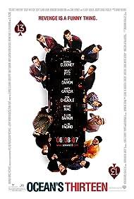 Brad Pitt, George Clooney, Don Cheadle, Matt Damon, Andy Garcia, Casey Affleck, Elliott Gould, Scott Caan, Bernie Mac, Carl Reiner, Eddie Jemison, and Shaobo Qin in Ocean's Thirteen (2007)