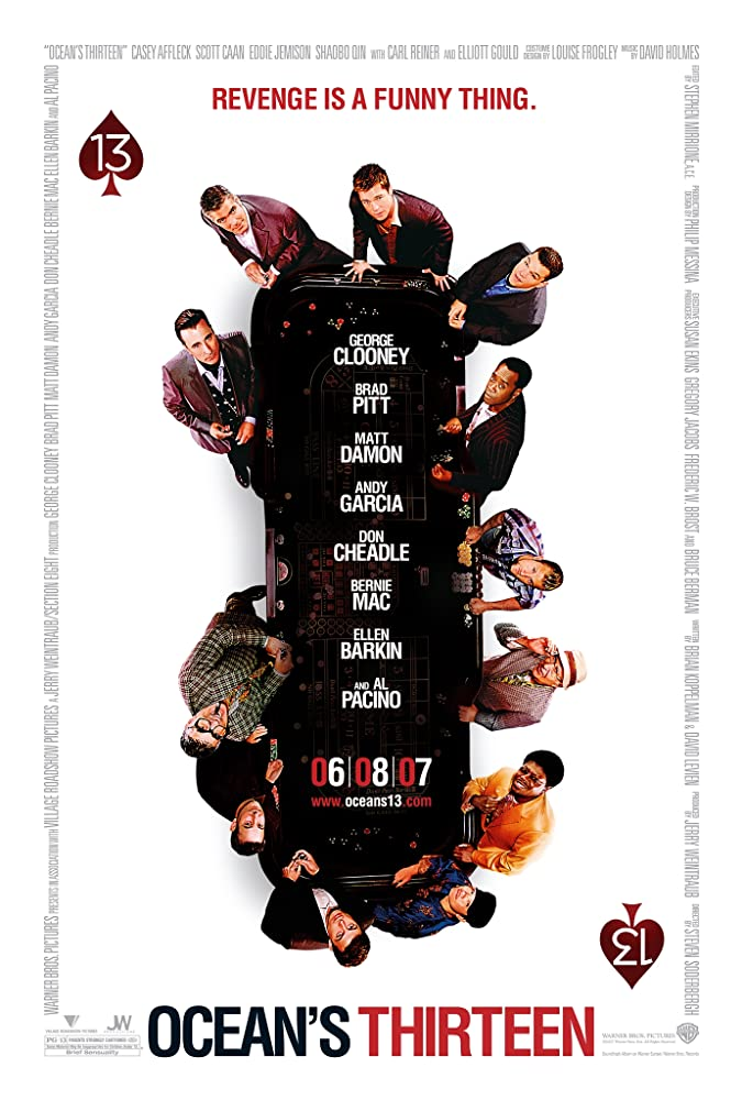 Ocean's Thirteen (2007) Dual Audio Hindi 720p BluRay x264 1.1GB ESubs