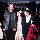 Drew Barrymore, Courtney Love, and Eric Erlandson at an event for Primal Fear (1996)