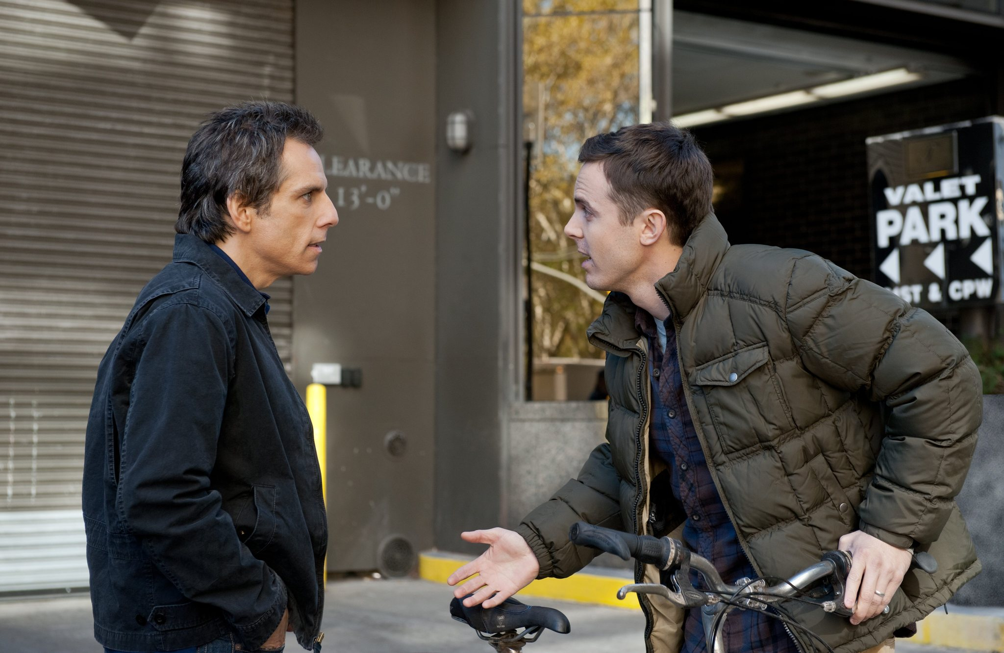 Casey Affleck and Ben Stiller in Tower Heist (2011)