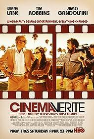 Diane Lane, Tim Robbins, and James Gandolfini in Cinema Verite (2011)