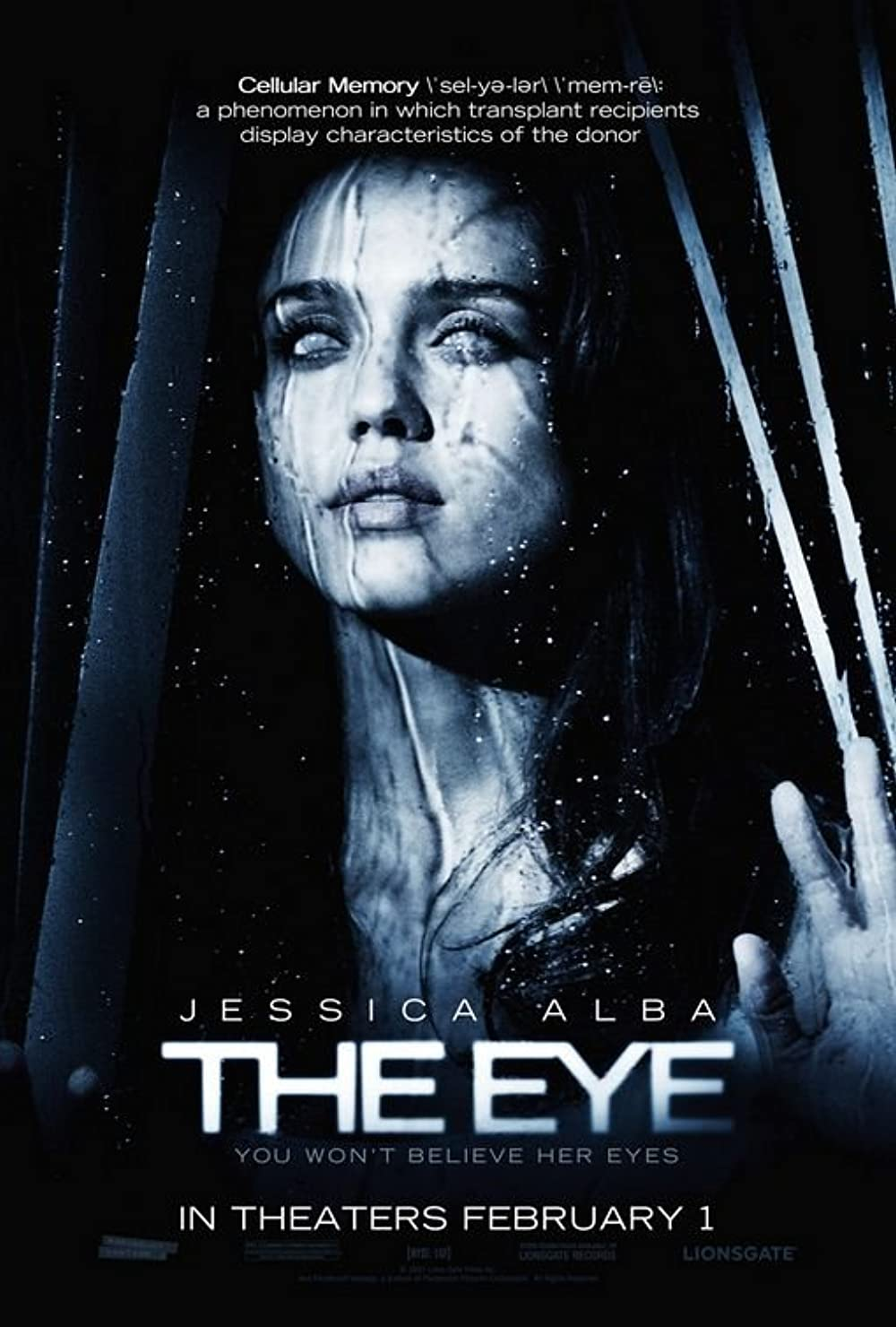 The Eye 2008 Hindi Multi Audio 380MB BluRay ESubs Download