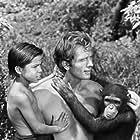 """""""Tarzan"""" Ron Ely, Manuel Padilla Jr."""