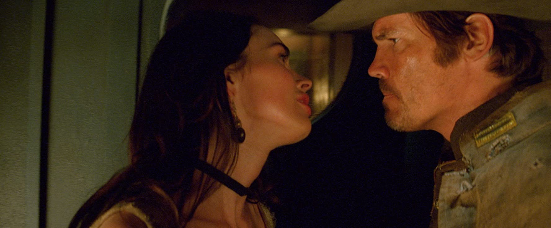 Josh Brolin and Megan Fox in Jonah Hex (2010)