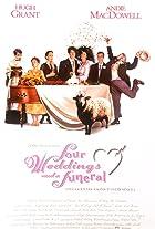 Fire bryllup og en gravferd (1994)