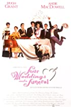 Four Weddings and a Funeral (1994) Poster